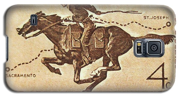 The Pony Express Centennial Stamp Galaxy S5 Case