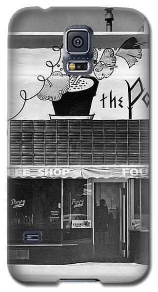 The Poppy, Coffee Shop, Fountain, Alvarado Street, Monterey Circ Galaxy S5 Case