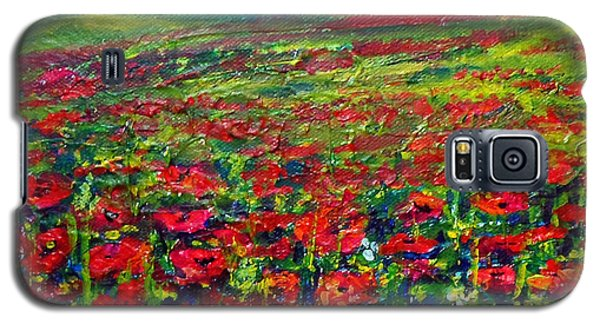 The Poppy Fields Galaxy S5 Case