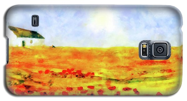 The Poppy Picker Galaxy S5 Case