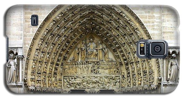 The Portal Of The Last Judgement Of Notre Dame De Paris Galaxy S5 Case