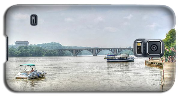 Galaxy S5 Case featuring the photograph The Potomac by Adrian LaRoque