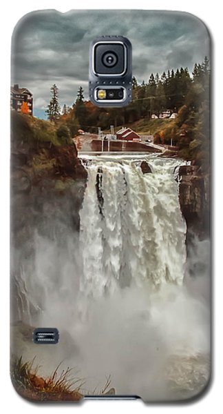 The Powerful Snoqualmie Falls Galaxy S5 Case