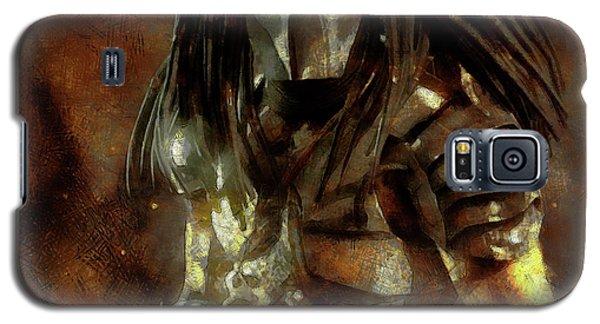 The Predator Scroll Galaxy S5 Case by Mario Carini