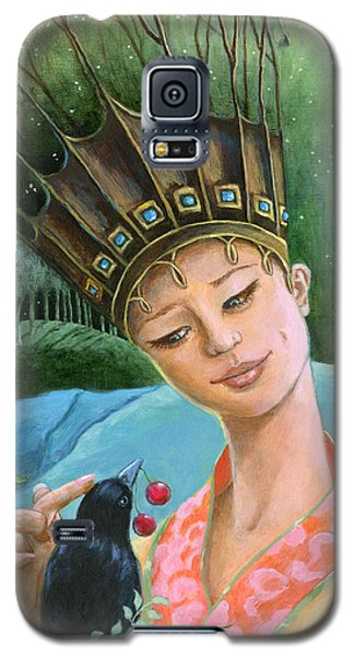 The Princess And The Crow Galaxy S5 Case by Terry Webb Harshman