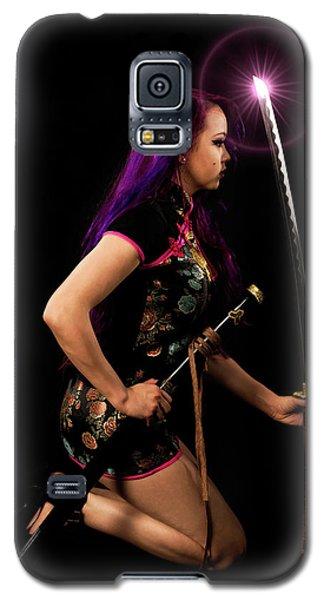 The Purple Glow Galaxy S5 Case