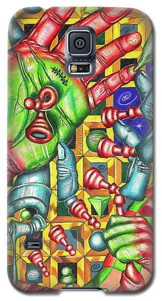 The Quantum Mechanics Of Chess And Life Galaxy S5 Case