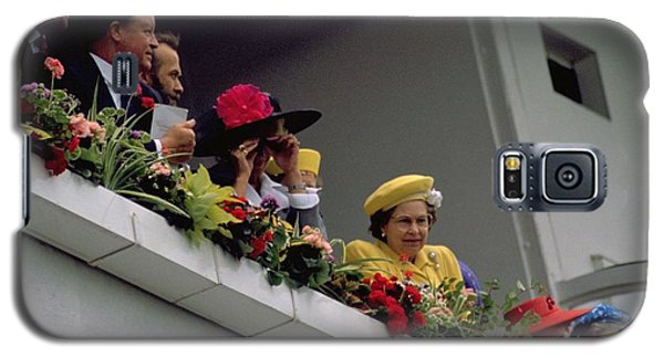 The Queen At Derby Day 1988 Galaxy S5 Case