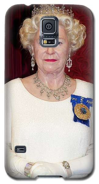 Galaxy S5 Case featuring the photograph The Queen Elizabeth II  by Miroslava Jurcik