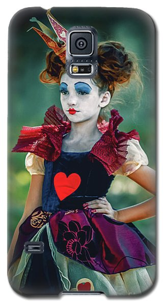 The Queen Of Hearts Alice In Wonderland Galaxy S5 Case