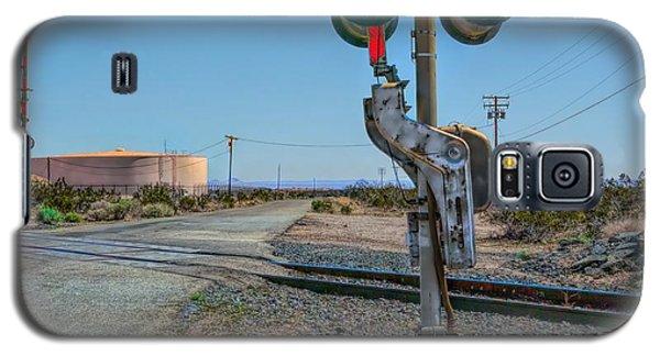 The Railway Crossing Galaxy S5 Case