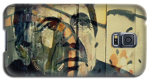 Galaxy S5 Case featuring the painting The Rain Falls Down On Last Years Man  by Paul Lovering