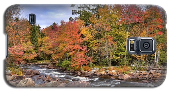 Galaxy S5 Case featuring the photograph The Rapids On The Moose River by David Patterson