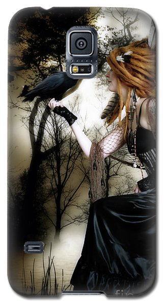 Raven Galaxy S5 Case - The Raven by Shanina Conway