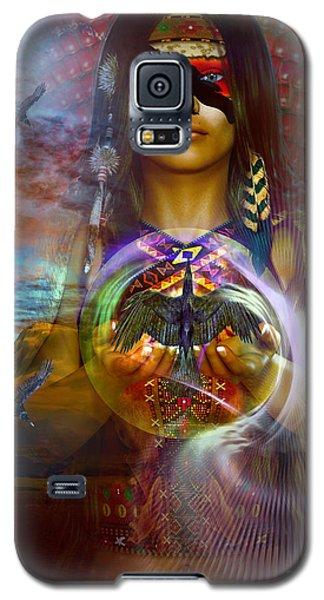 the RAVEN  spirit Galaxy S5 Case
