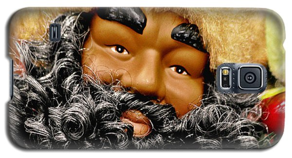 The Real Black Santa Galaxy S5 Case by Christine Till