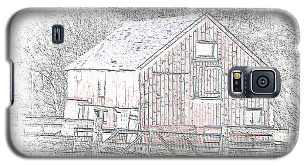 The Red Barn Galaxy S5 Case