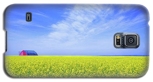 Galaxy S5 Case featuring the photograph The Red Barn by Keith Armstrong