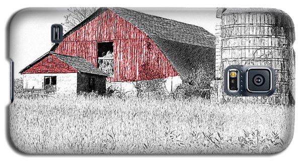 The Red Barn - Sketch 0004 Galaxy S5 Case