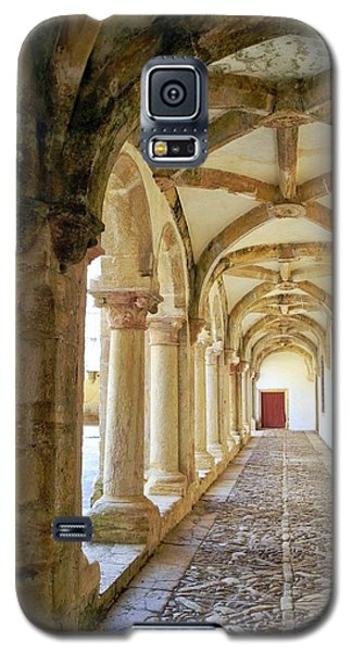 Galaxy S5 Case featuring the photograph The Red Door In The Loggia by Kirsten Giving