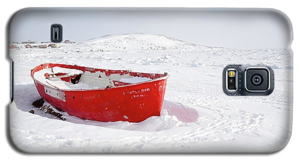 The Red Fishing Boat Galaxy S5 Case