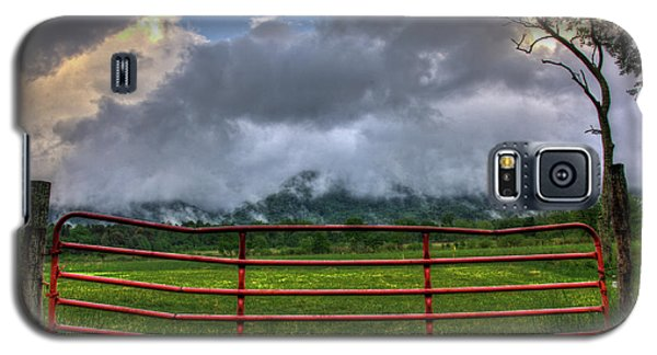 Galaxy S5 Case featuring the photograph The Red Gate by Douglas Stucky