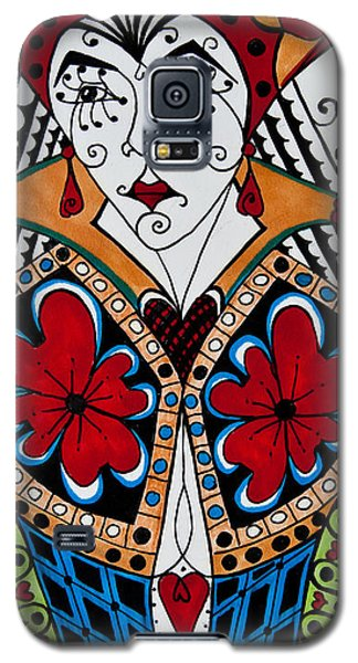 The Red Queen Galaxy S5 Case