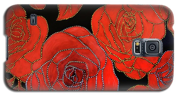 The Red Red Roses Galaxy S5 Case