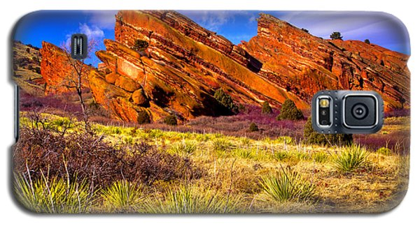 The Red Rock Park Vi Galaxy S5 Case