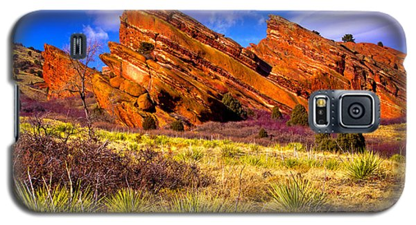 The Red Rock Park Vi Galaxy S5 Case