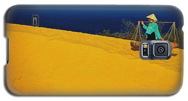 The Red San Dunes Of Mui Ne Vietnam Galaxy S5 Case