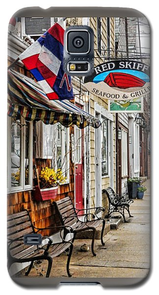 The Red Skiff In Rockport Ma Galaxy S5 Case