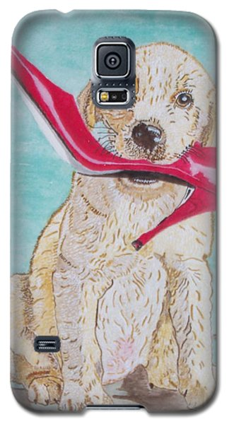 The Red Slipper  Galaxy S5 Case by Connie Valasco