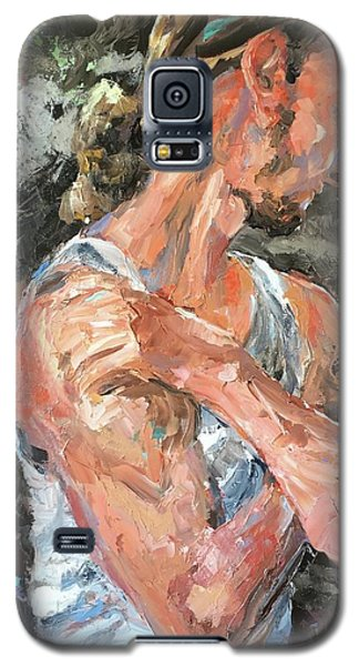 The Reflective Pause Galaxy S5 Case by Diane Daigle