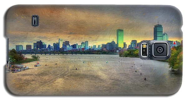 Galaxy S5 Case featuring the photograph The Regatta - Head Of The Charles - Boston by Joann Vitali