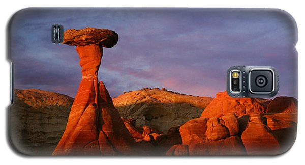 Galaxy S5 Case featuring the photograph The Rim Rocks by Keith Kapple