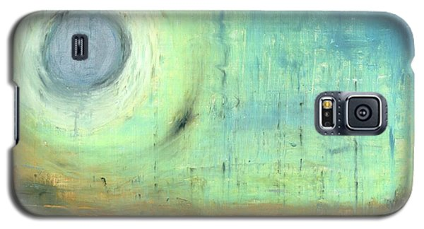 Galaxy S5 Case featuring the painting The Rising Sun by Michal Mitak Mahgerefteh