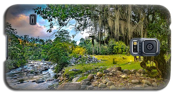 The River At Cocora Galaxy S5 Case