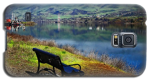 The River Bench Galaxy S5 Case