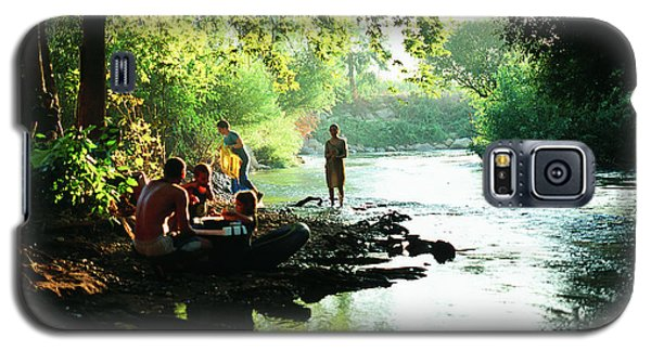 Galaxy S5 Case featuring the photograph The River by Dubi Roman