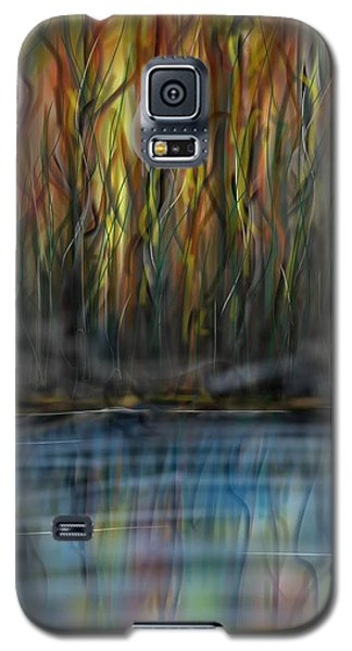 Galaxy S5 Case featuring the digital art The River Side by Darren Cannell