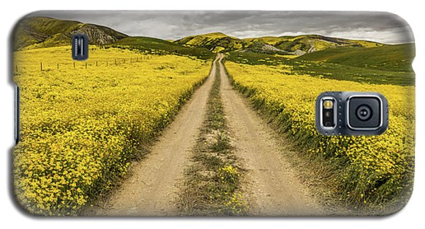 Galaxy S5 Case featuring the photograph The Road Less Pollenated by Peter Tellone