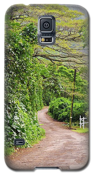 The Road Less Traveled-waipio Valley Hawaii Galaxy S5 Case