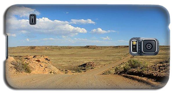 The Road To Chaco Galaxy S5 Case by Elizabeth Sullivan