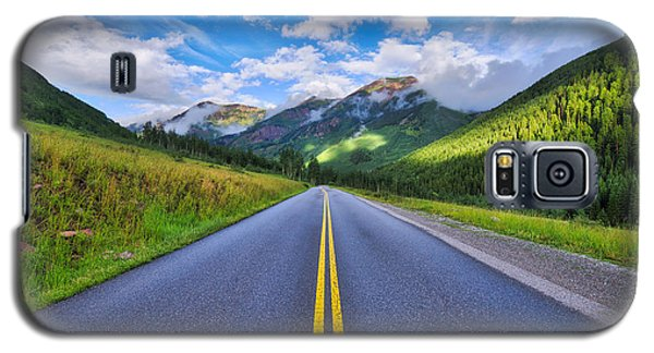 The Road To Maroon Lake Galaxy S5 Case