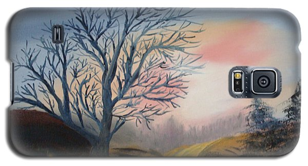 Galaxy S5 Case featuring the painting The Road To... by Rod Jellison