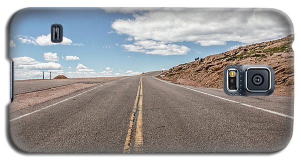 The Road Up Pikes Peak At Around 12,000 Feet Galaxy S5 Case