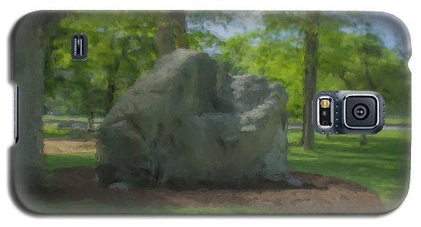 The Rock At Frothingham Park, Easton, Ma Galaxy S5 Case
