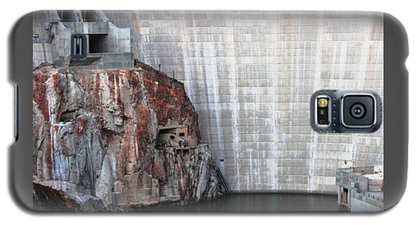 The Rock Behind The Dam Galaxy S5 Case by Natalie Ortiz