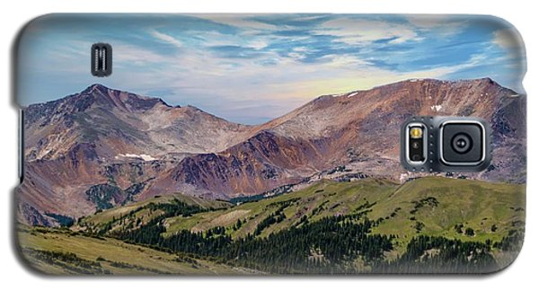 Galaxy S5 Case featuring the photograph The Rockies by Bill Gallagher